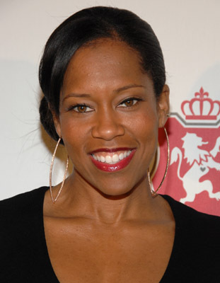 "HOLLYWOOD, CA -FEBRUARY 27: Actress Regina King arrives at the ""Celebrate like Royalty"" party held at Boulevard 3 on February 27, 2008 in Hollywood, California. (Photo by: Jean-Paul Aussenard/Wireimage)"