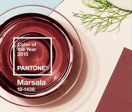 Marsala, a cor escolhida para 2015 1