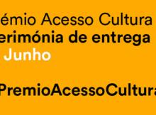 Vencedores do Prémio Acesso Cultura 2015