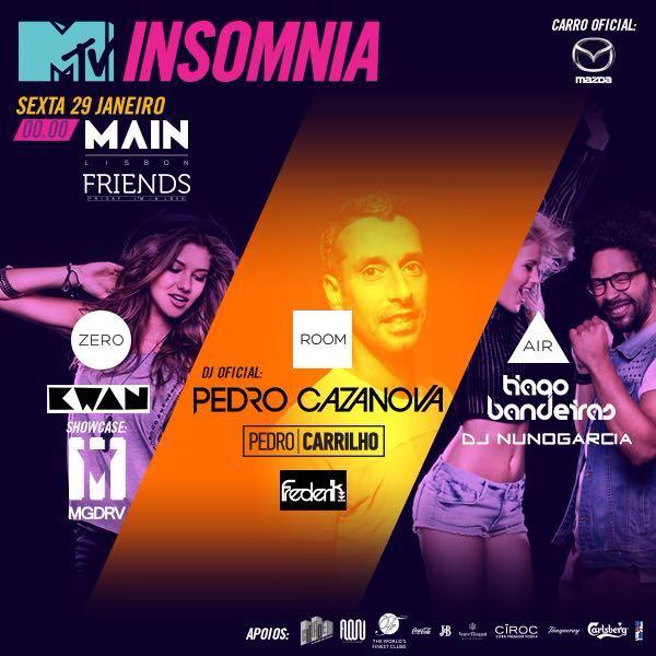 MTV Insomnia Tour Main Lisboa