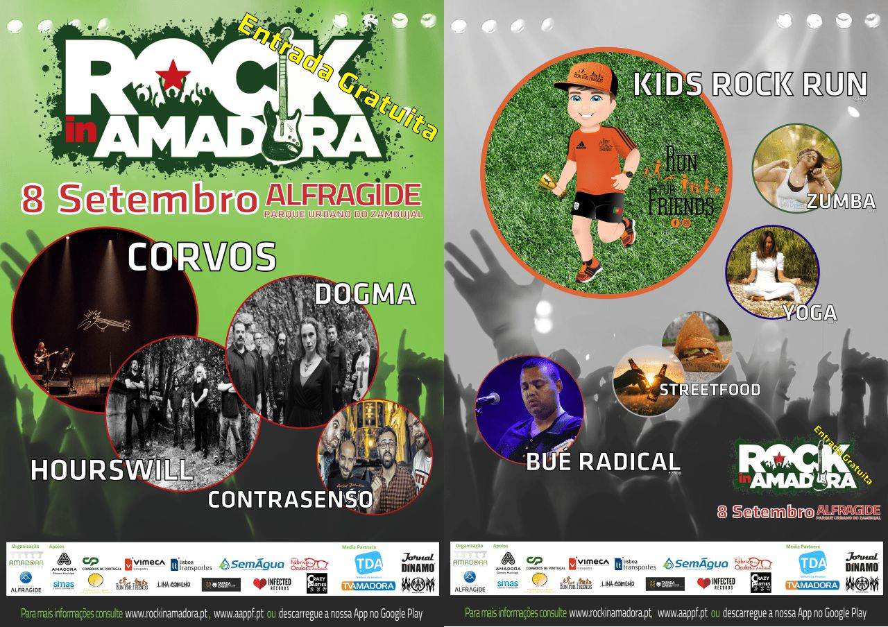 Rock in Amadora Cartaz-2018