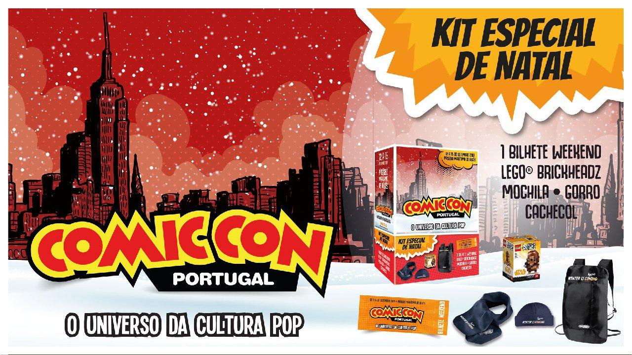Kit de Natal Comic Con Portugal