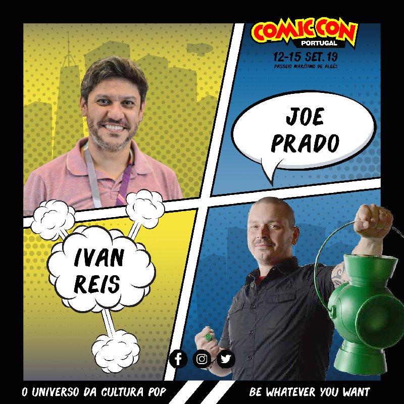 Ivan Reis e Joe Prado